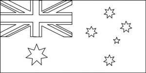 picture relating to Australian Flag Printable identified as Training - Paint a Flag Australian Countrywide Flag
